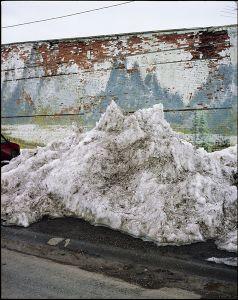 Snow Pile, Ashton Idaho © Alexis Pike