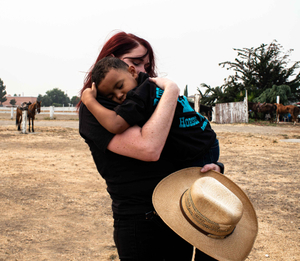 Held by Cowgirl Jess