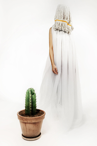 Haute Couture with cactus