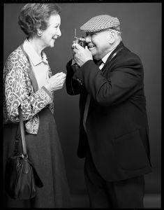 Bert Hardy and Anne Scott James
