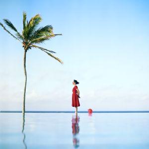 The Palm Tree, Self Portrait. South Shore, Bermuda, 2004. © Cig Harvey.
