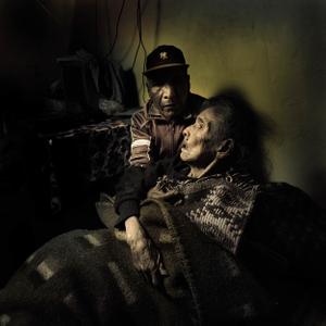 Juan Luna and his mother
