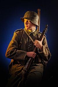 Assault german trooper 1916