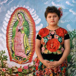 Juchitán Young Woman, Juchitán, Oaxaca, México 1986