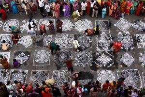 Kolam Festival, Chennai, India