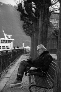 Month earlier. Como, Italy.