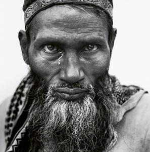 Muslim Man with a Tear, Delhi, India