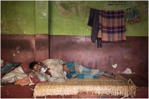 Street Photography - Sleeping Series 07 (Bangladesh)