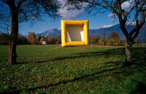 Yellow square, 2007