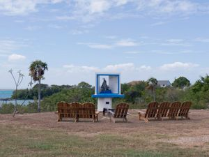 """Naval Base Shrine of Our Lady from """"If The Light Goes Out: Home from Guantanamo"""" © Edmund Clark"""