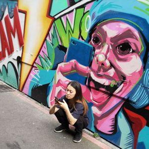 3 Taipei street life Graff