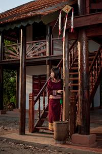 Gia Rai young lady in Kon Tum Province