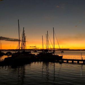 Sunset, Cienfuegos Harbor