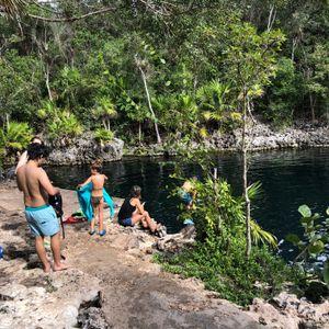Cenote at Playa Giron