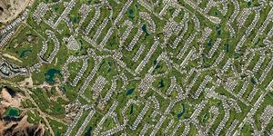 Palm Springs, California, USA. From the series 'TIMEOUT' © Marcus Lyon