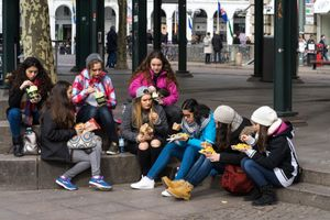 Tourist-lunch