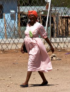 Woman in Khorixas