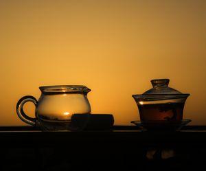 Tea at sunset 1