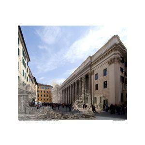 Piazza di Pietra  [Vedute di Roma] circa 1778 / 2016