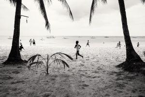 Tropical beach life