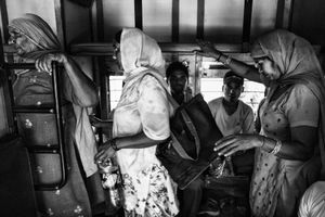 IMPRESSIONS AT THE OLD DELHI RAILWAY STATION 34
