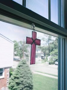 Stained Glass Cross, 2018