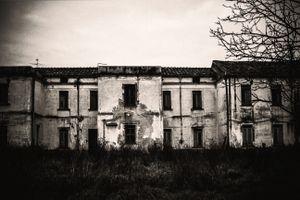 Former psychiatric hospital, 2014.