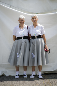 Twins Days 2015. Edna and Alma Brunell (82)