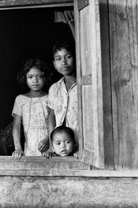 Three Village Children, 1973