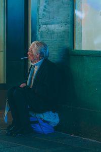Nightly Cigarette