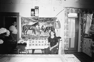 Zofia Rydet, Sociological Record, Chocho?ów, 1981. People in Interiors cycle © Zofia Augustynska-Martyniak
