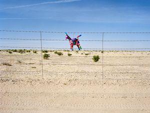 Border Fence between Arizona and Sonora