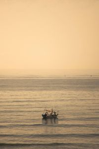 Nature: Fishermen in the early morning