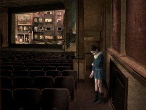 Elena in the theater