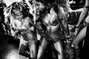 Carnival Models, Port of Spain, Trinidad, 2011