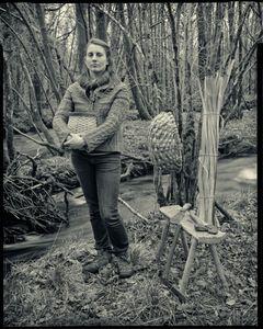 Lorna Singleton, swill maker, Rusland Valley, Cumbria.