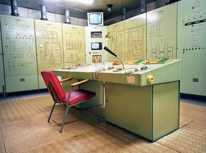 Germany East, Wollenberg. Underground communications bunker of the National People's Army.