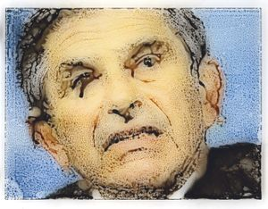 Paul Wolfowitz - Crime against peace – planning and carrying out a war of aggression. With Donald Rumsfeld and others, set up Office of Special Plans in Defense Department to develop the case for invading Iraq. © William Miller