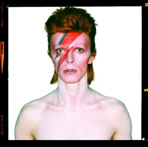 David Bowie, Aladdin Sane, 1973. Showing at Camera Work Gallery. Courtesy of PhotoLondon.