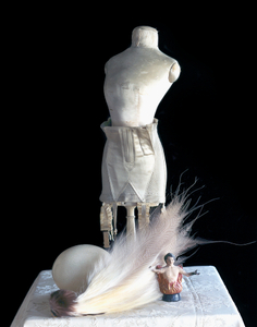 Still Life with a White Feather           (For Dita Von Teese), Studio, Paris
