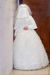 Waiting bride, standing