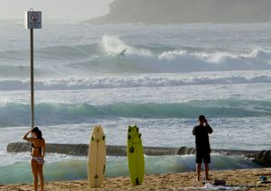 Manly Beach, NSW, Australia.