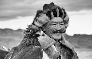 Khazak eagle hunter