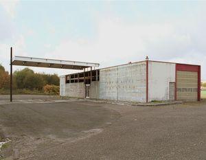 """Station #17, from """"Twentysix Abandoned Gasoline Stations"""" © Eric Tabuchi"""