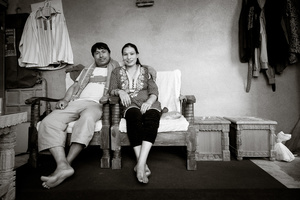 Ratna Dai and his wife