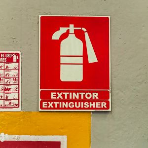 Extinguisher, another.