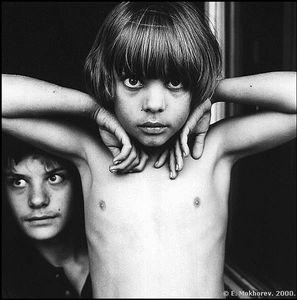 © Evgeny Mokhorev, Gleb and Danila, 2000