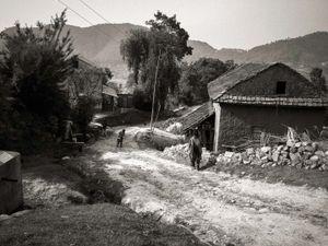 Village near Chapagaon, Nepal