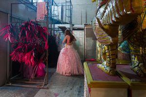 Behind the scenes of a transgender cabaret