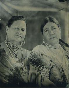 Kathleen and Chenina- Accohannock Tribe